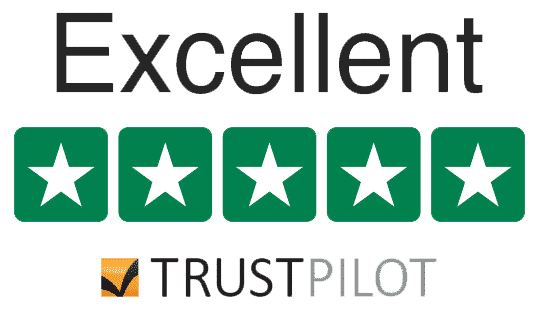 Rated Excellent by Trustpilot